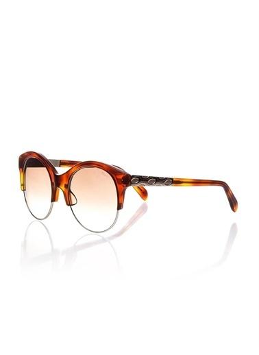 Emilio Pucci  Ep 0023 53F Kadın Güneş Gözlüğü Kahve